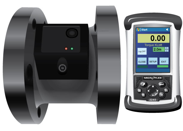 Helical Anchor Installation Torque Monitor