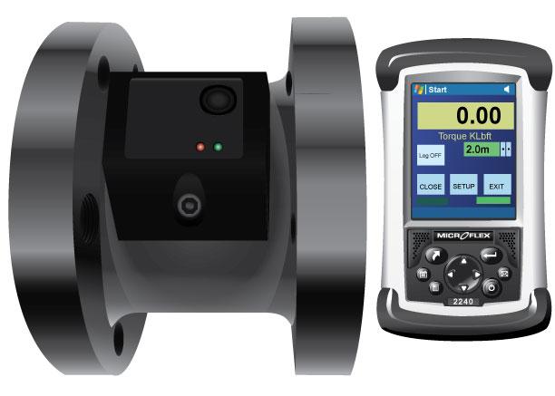Helical Anchor Installation Torque Monitor