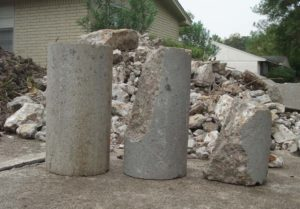 concrete pressed piles