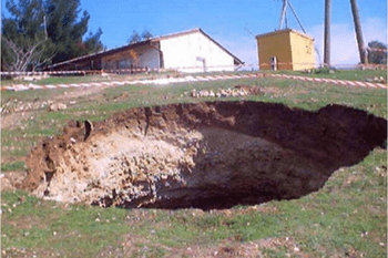 How Sinkholes Form