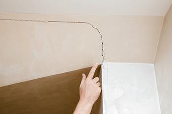 Ceiling Cracks: Superficial or Super Worrisome?