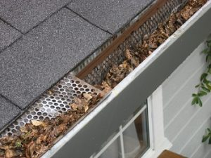 clogged gutter cause water problems