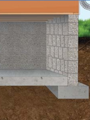 crawl space foundation