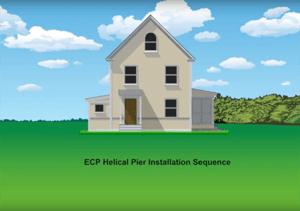 ECP pier installation