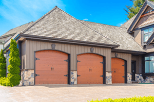 Garage column cracks