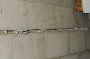 bowing walls mean there is pressure on foundation walls