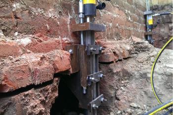 hydraulic slab lift piers