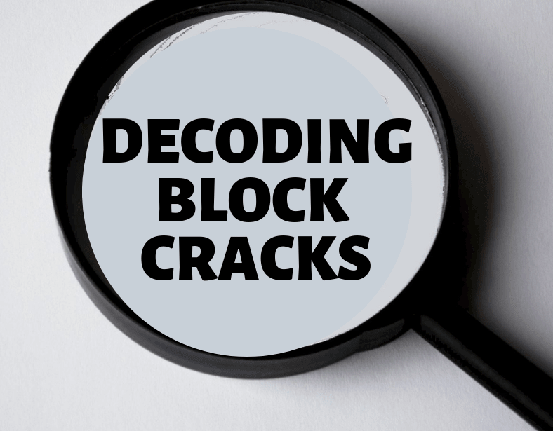 Decoding Concrete Block Cracks