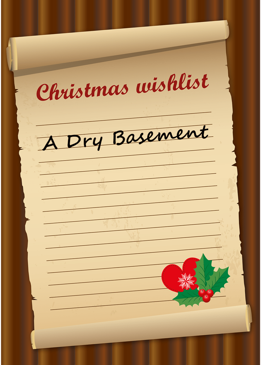 A Dry Basement is the Best Christmas Gift