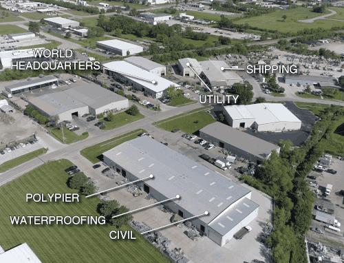 Company history: ECP Headquarters Complex