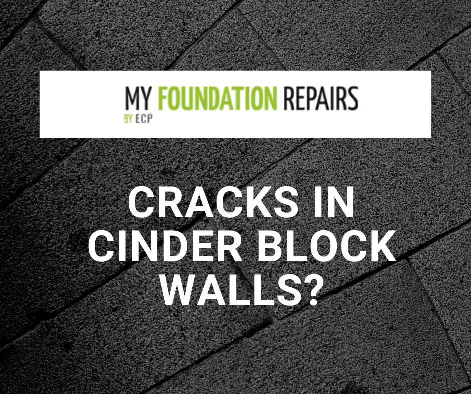 Cracks in Cinder Block Basement Walls?