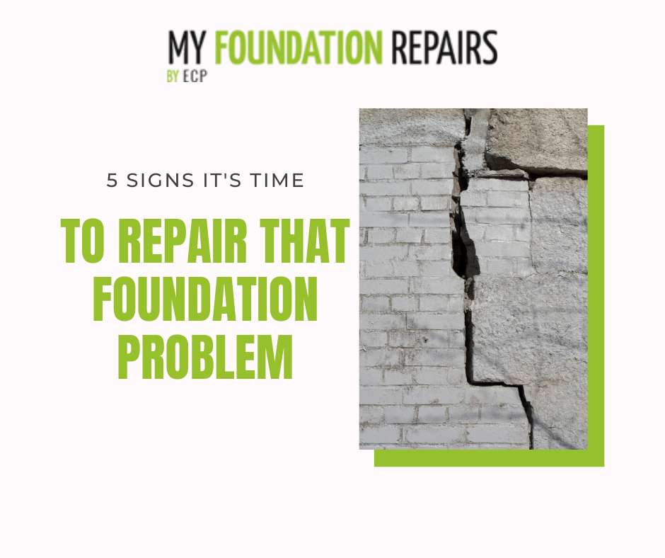 5 Signs it's Time to Repair Your Foundation