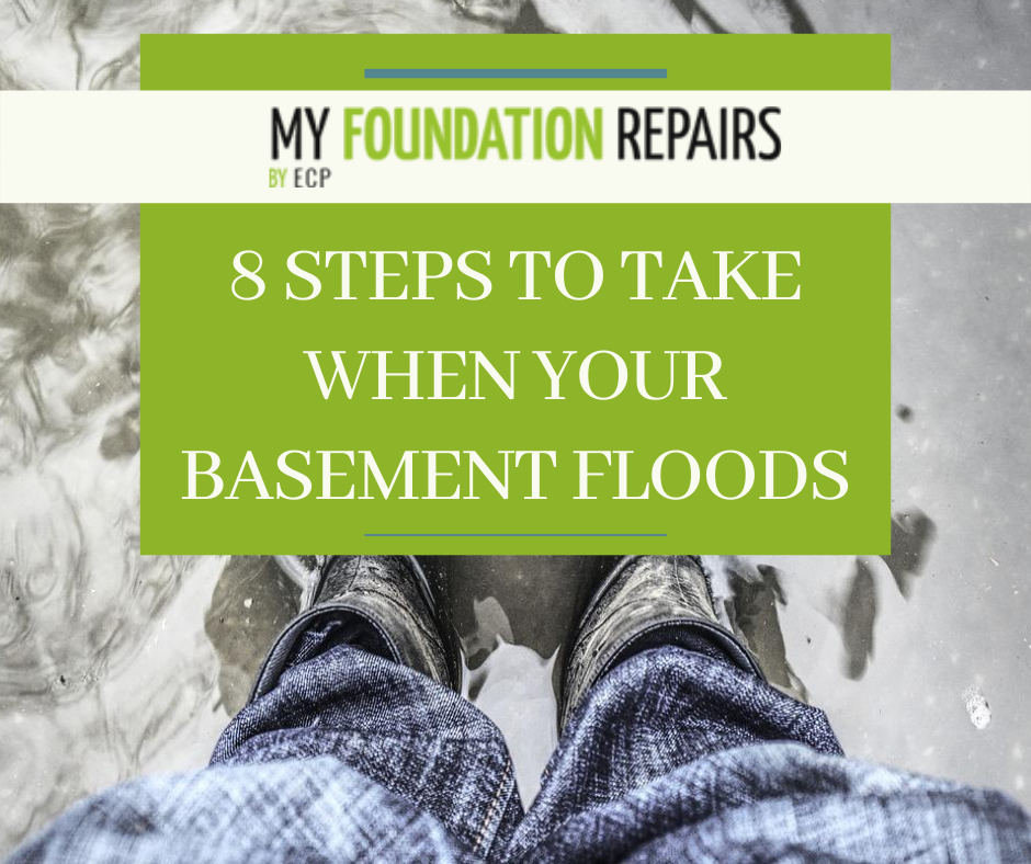 8 Steps To Take When Your Basement Floods