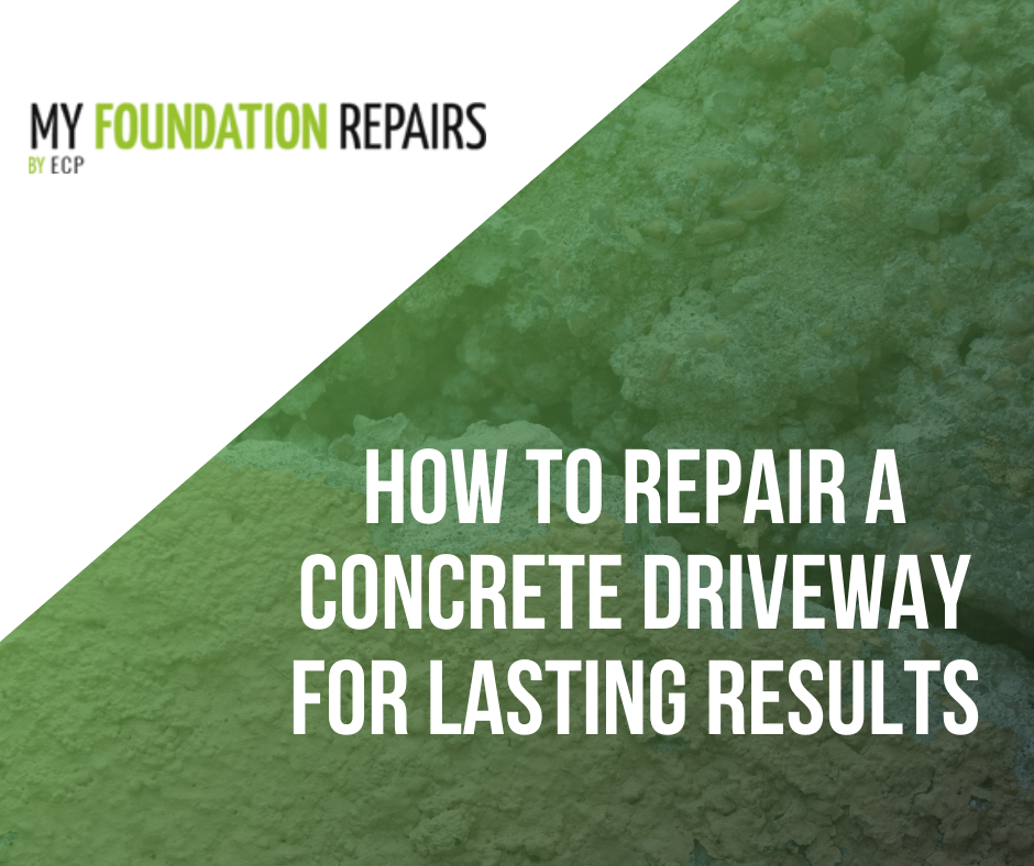 How to Repair a Concrete Driveway