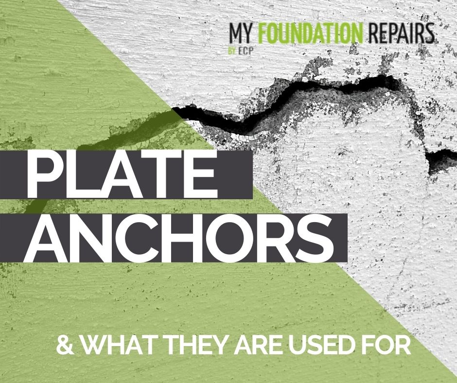 What Are Plate Anchors Used for in Foundation Repairs?