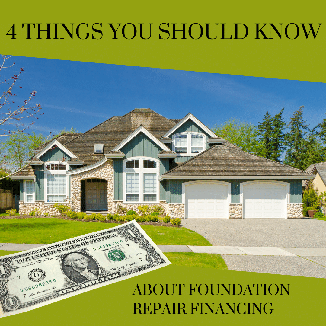 4 Things You Should Know About Foundation Repair Financing
