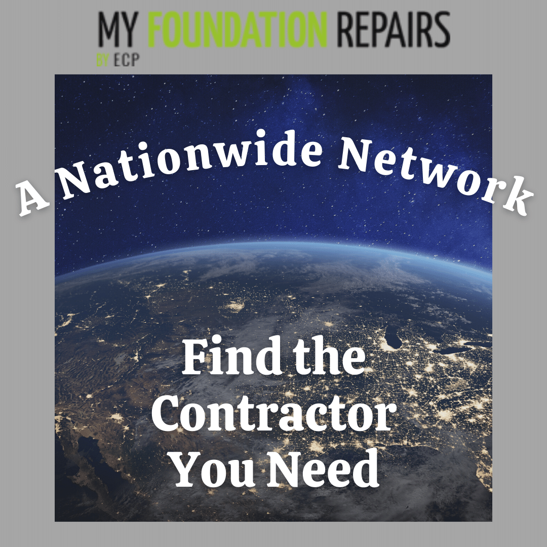 A Nationwide Network of Foundation Repair & Waterproofing Contractors