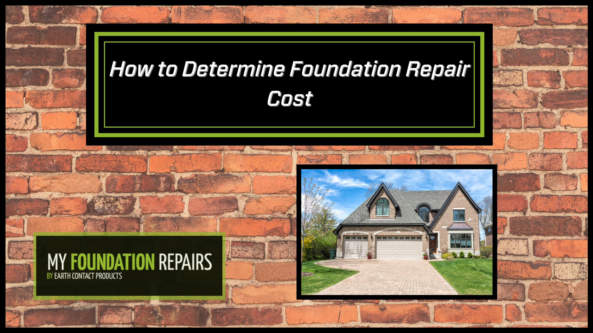 How to Determine Foundation Repair Cost